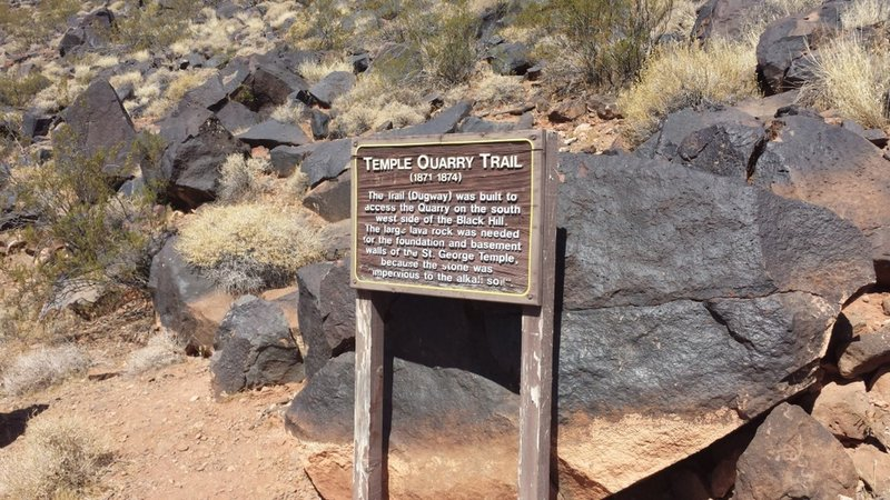 Temple Quarry Trail Info