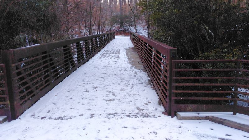 Bridge to a Neighborhood and North Cary Park