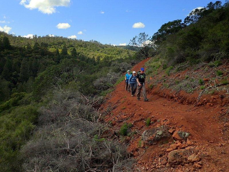 Going around the broad ridge