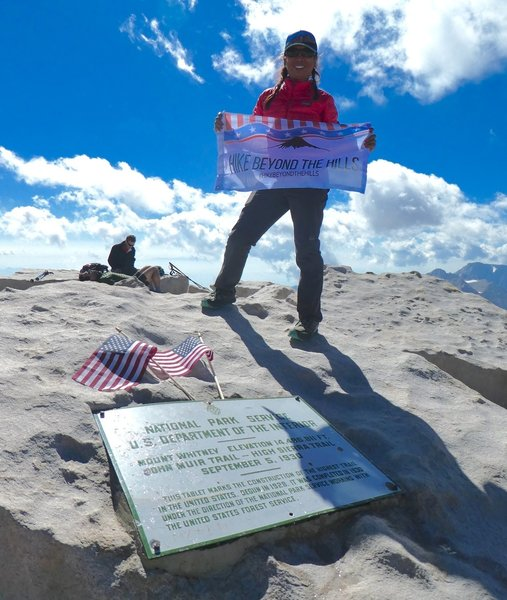 Made it to Mt. Whitney (14,505') after 4 days of backpacking from Cottonwood Pass to Mt. Whitney.