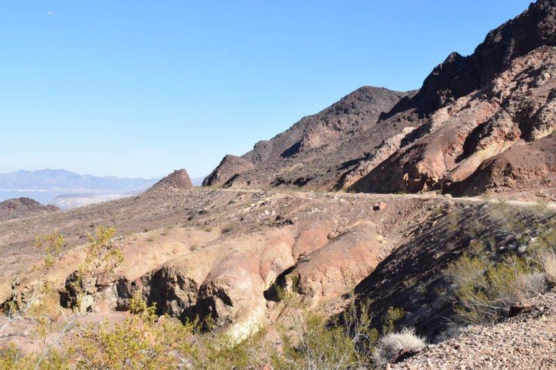 Lake Mead, Historic Railroad Trail