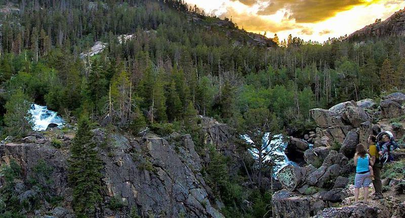 Ledge at Middle Fork Trail