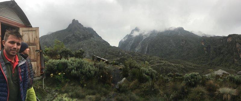 Hunwick's Camp at 3,874 meters.