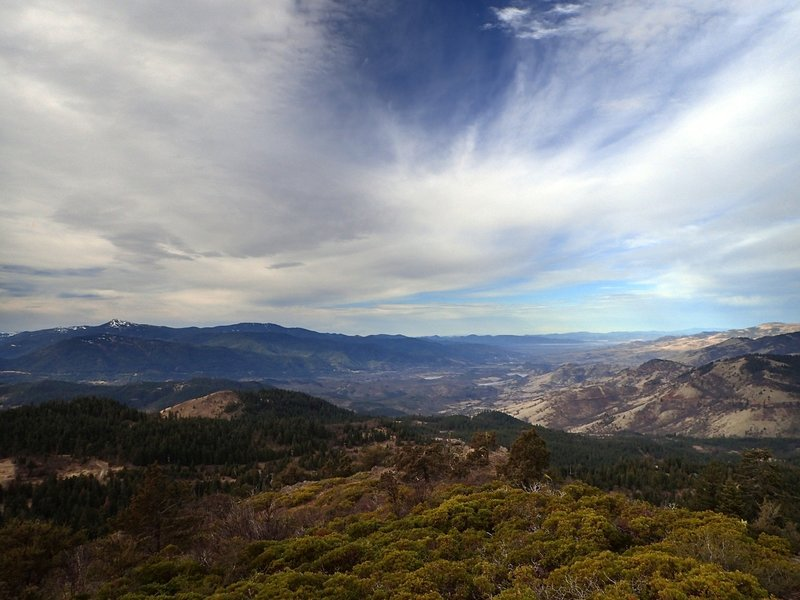 The Rogue Valley from Hobart Bluff