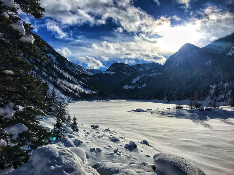 Lava Lake Trail