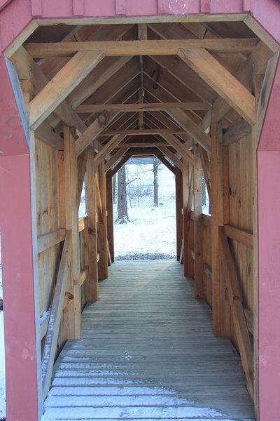 Mill Creek Covered Bridge.