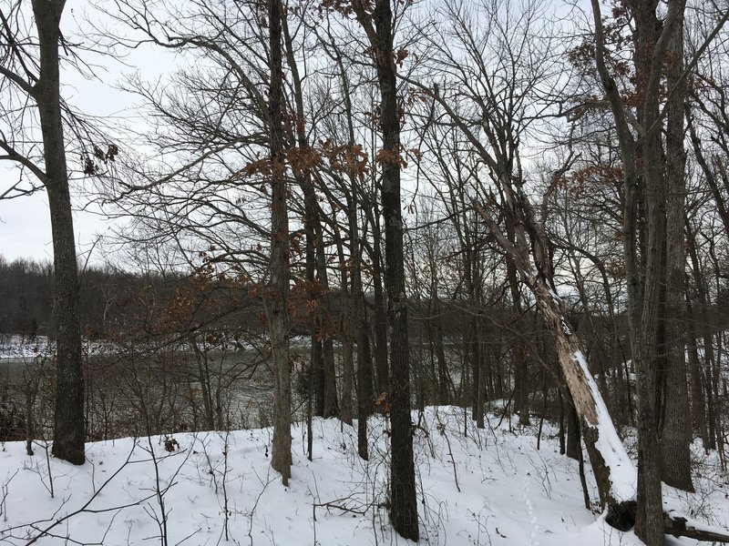 Look Across Barkley Canal.