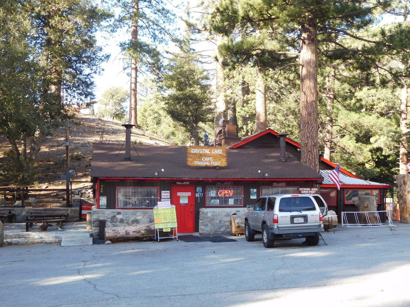 Crystal Lake cafe and store.