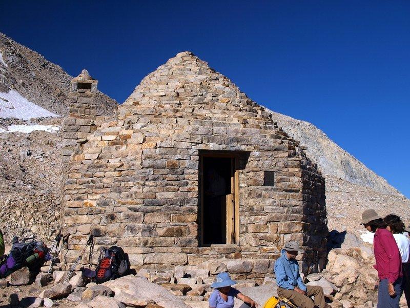 Muir Hut on Muir Pass.