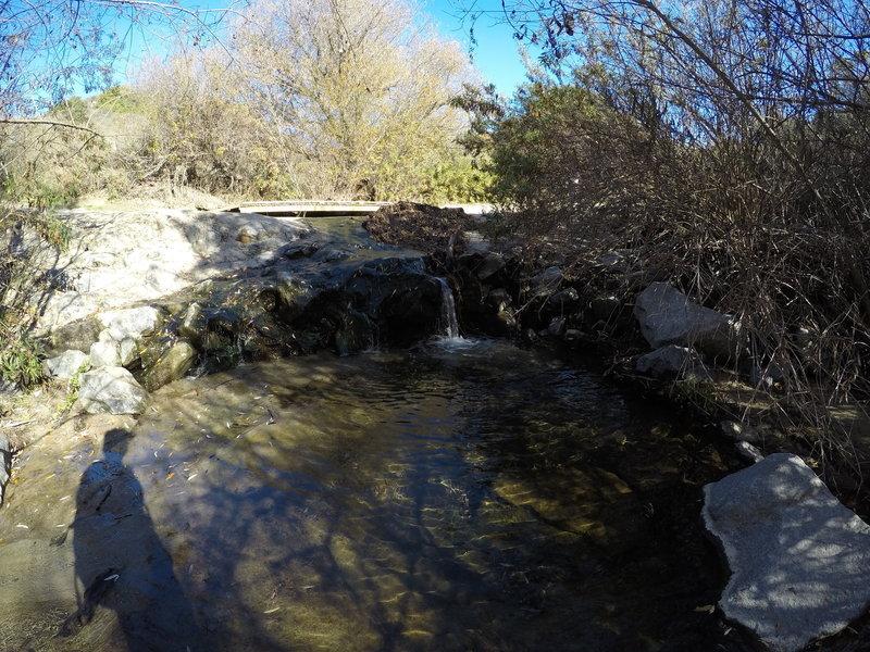 Waterfall on wood canyon trail.