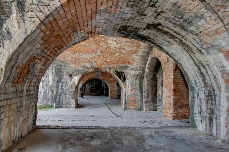 Fort Pickens.