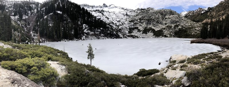 Frozen granite lake! 1/13/18