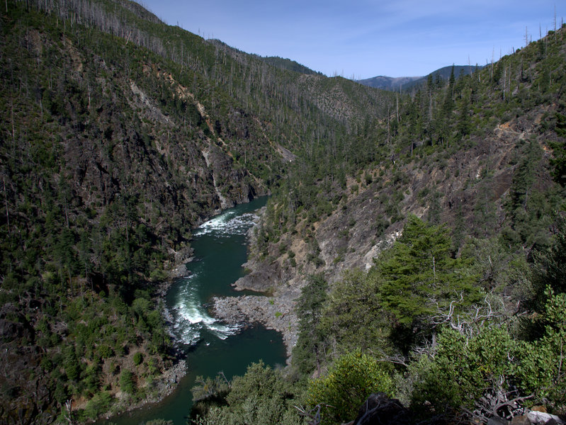 Illinois River from beneath York Butte