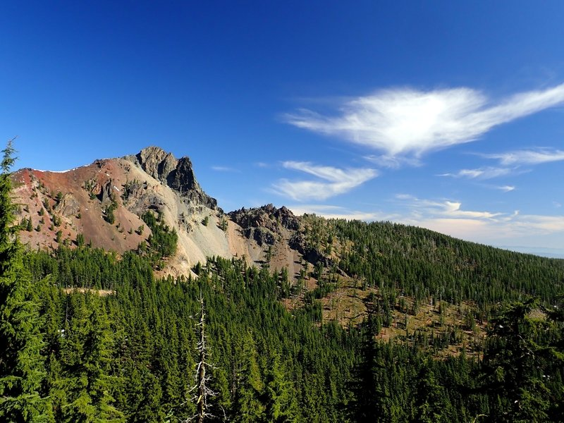 Cowhorn Mountain from the PCT