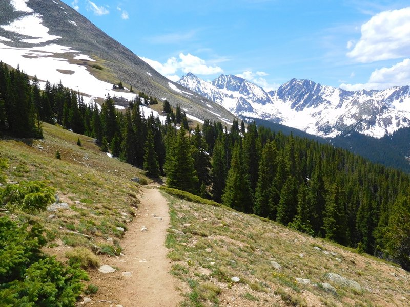 Huron Peak trail