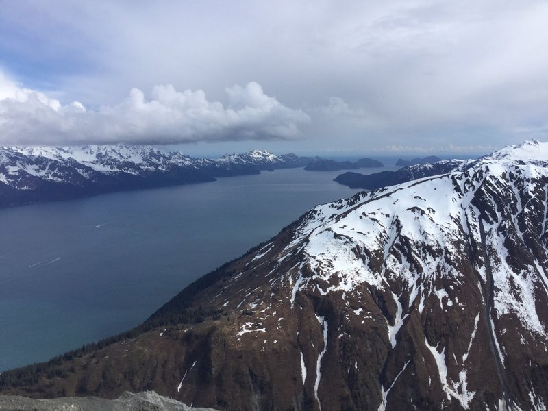 Another amazing view from a top of Mount Marathon.