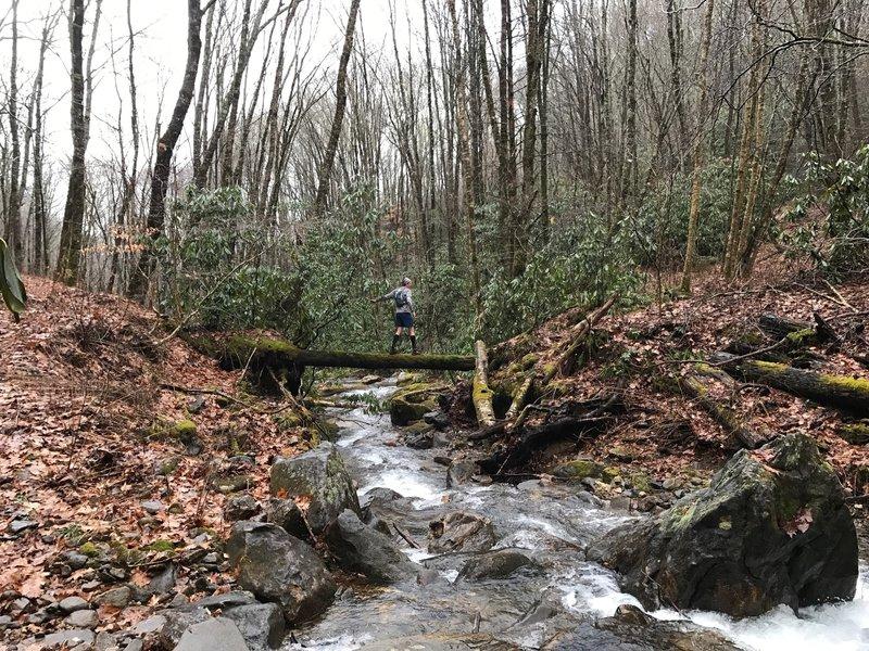 Creek Crossing Mile 8.5