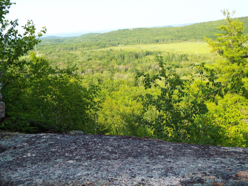 View from Homans Trail - Dorr Mountain - Acadia National Park