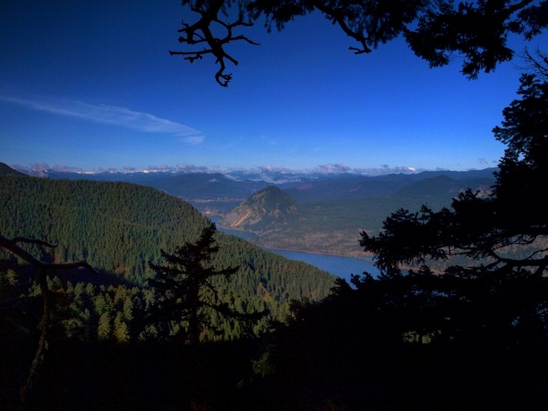Columbia River from the Starvation Ridge Trail