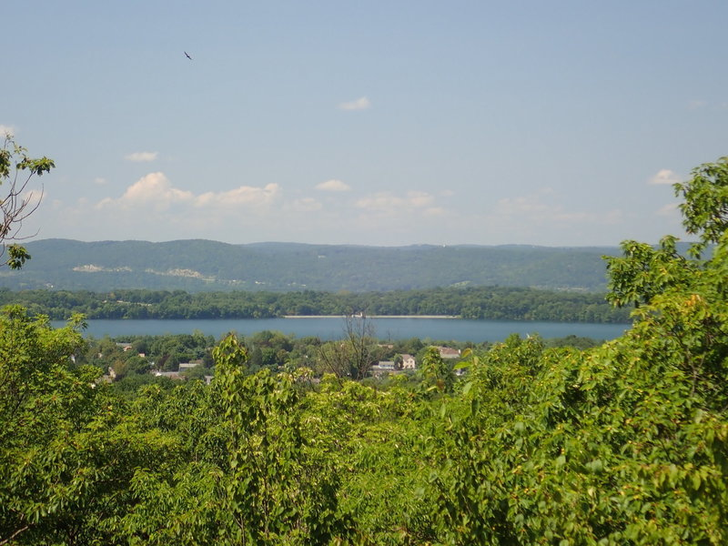 View west to Ramapo Mountains and I-287