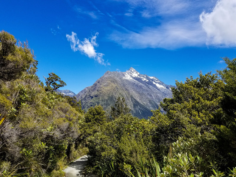 Mount Christina from the Routeburn Track