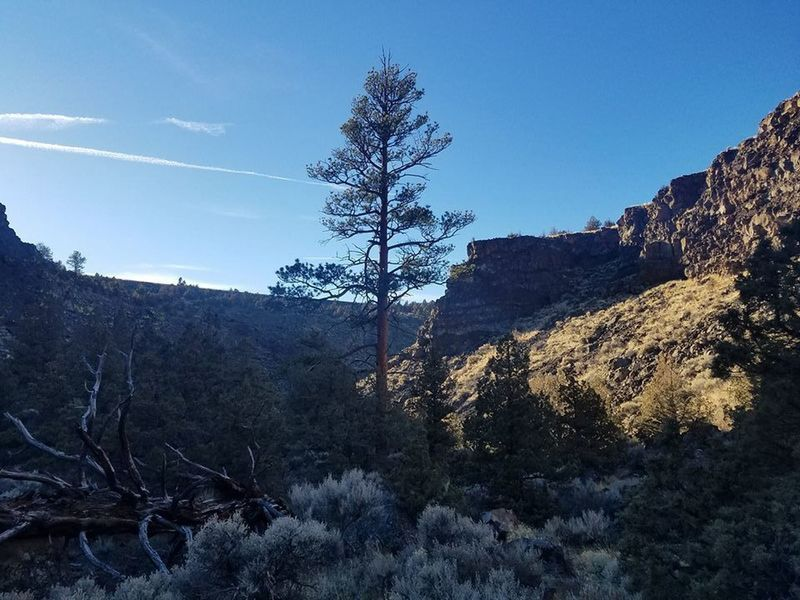 Rim Rock of Dry canyon