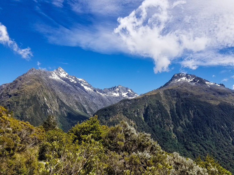 East Peak and Mount Christina from Routeburn Track