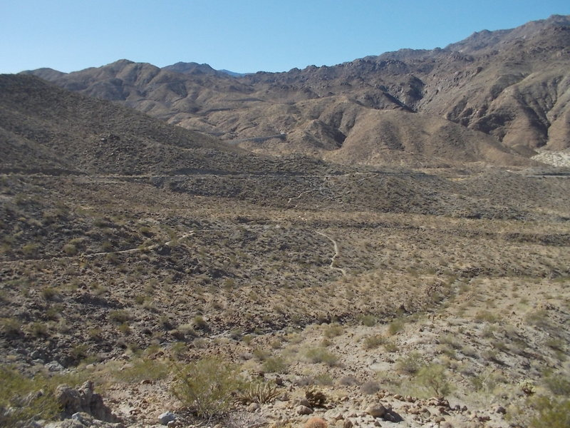 Pic of the trail below.