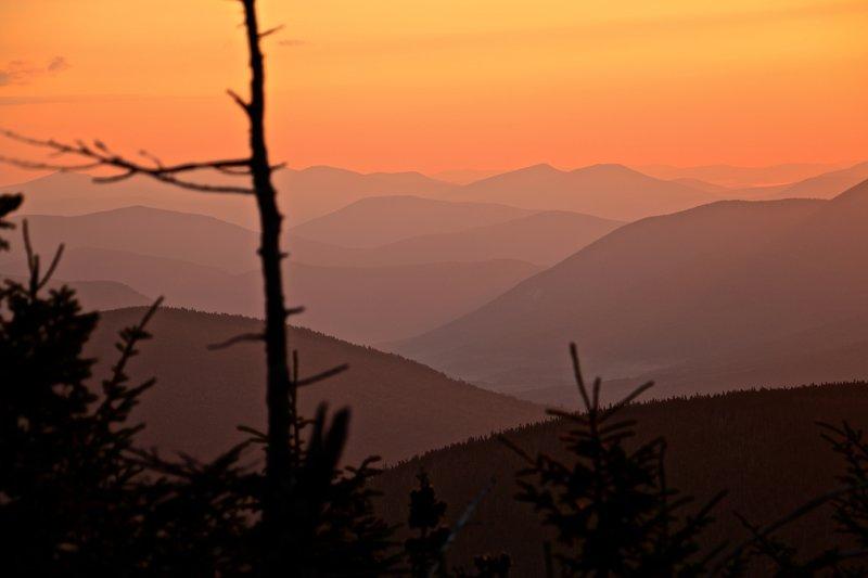 East Osceola Mountain sunrise