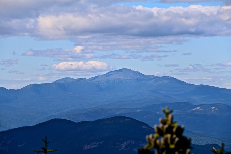 Mount Washington view from small clearing near Passaconaway summit