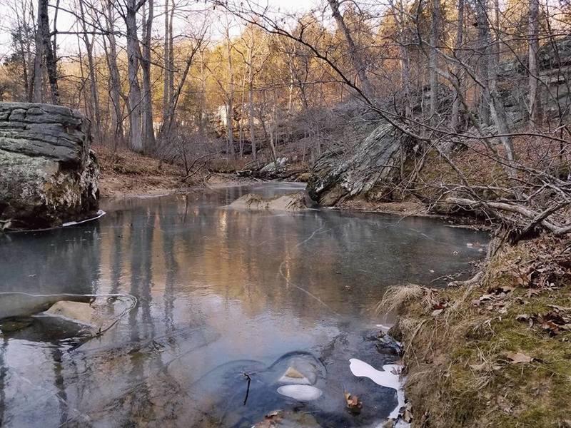 Frozen Bear Branch Creek