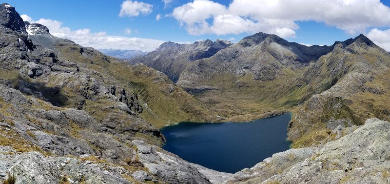Lake Harris from Conical Hill