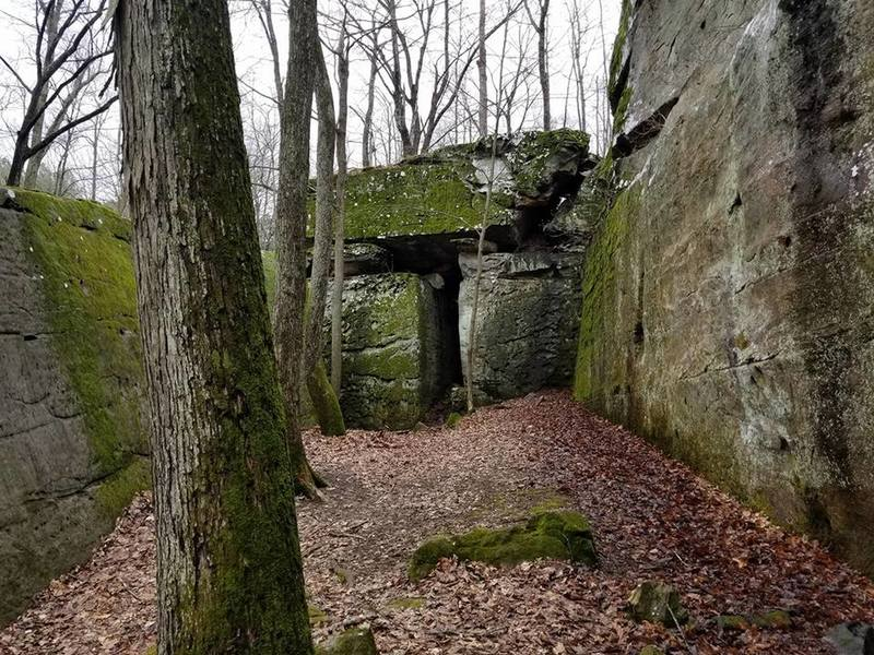 Door in the rock
