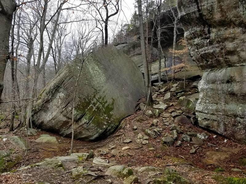 Big rock!