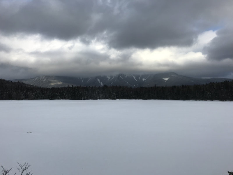 View across Lonesome Lake