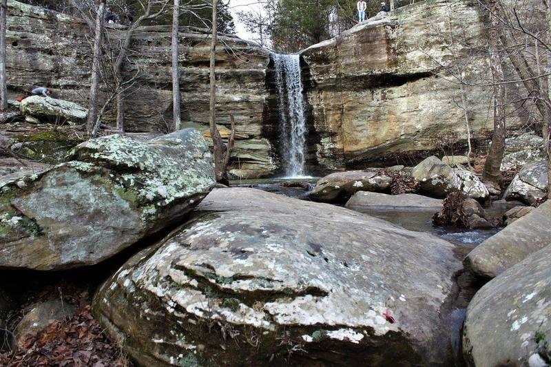 The main falls