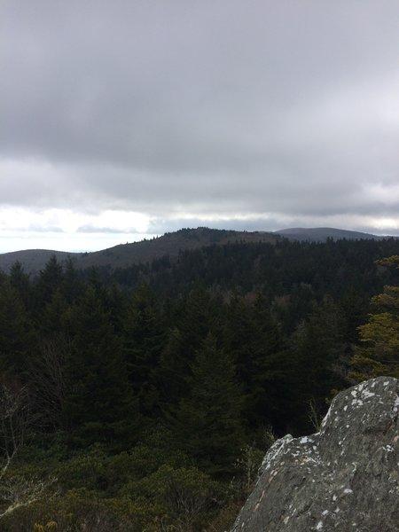 View point from trail...next ridgeline
