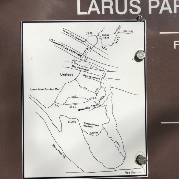 Trail map... (Not available online or incomplete)