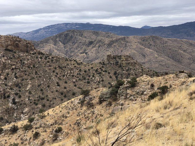 Views from ridge