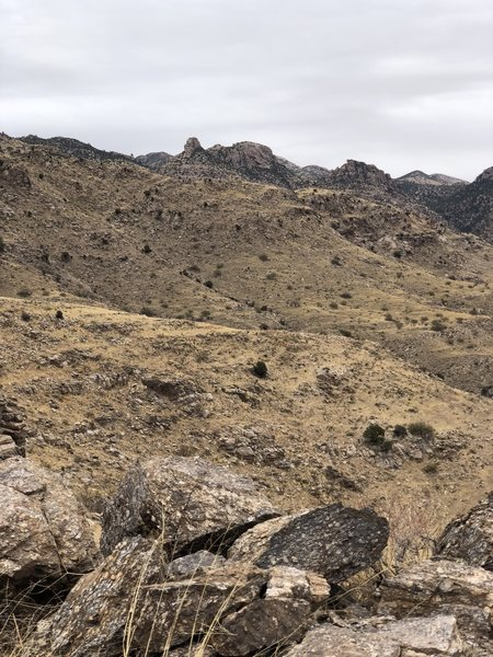 Nearing end of trail