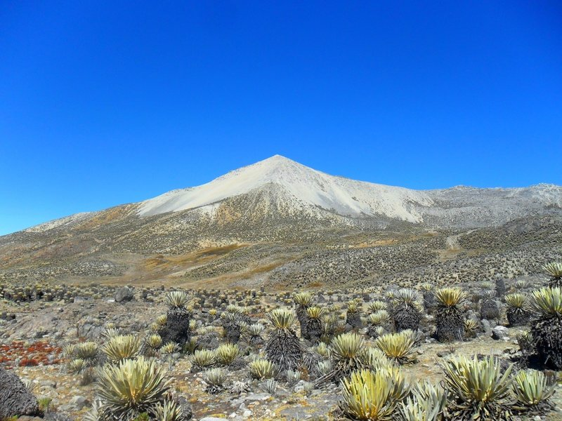 'Pan de Azucar' peak, the ninth highest in the country and the second of this National Park