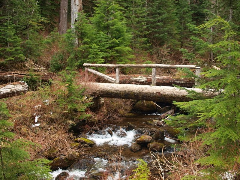 A bridge on the Bell Creek Trail