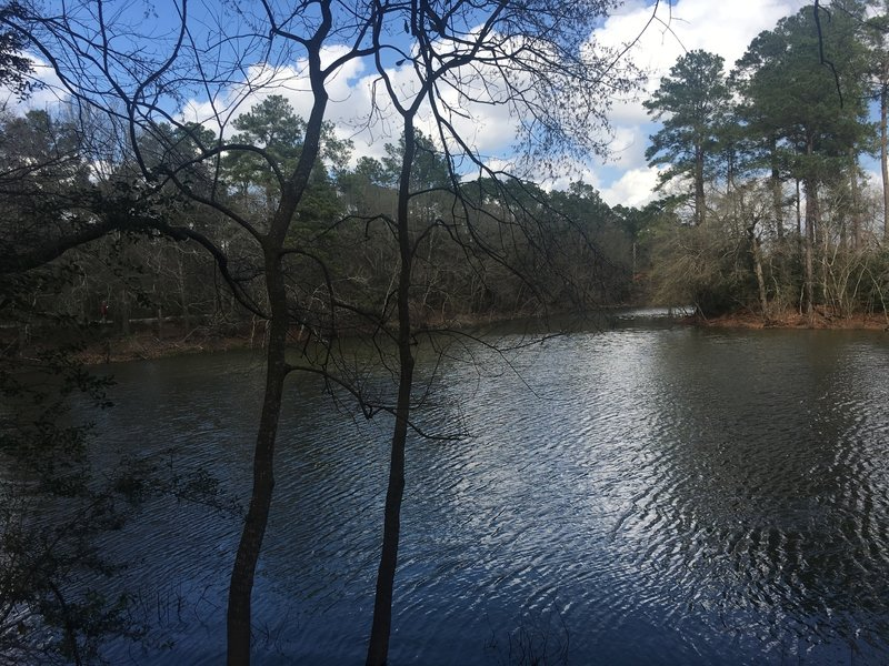 Plenty of beautiful lake views along the trail!