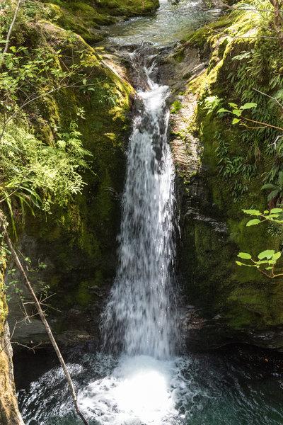 Waterfall near Sam Summers Hut