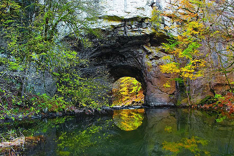 Great natural bridge of rakov Škocjan