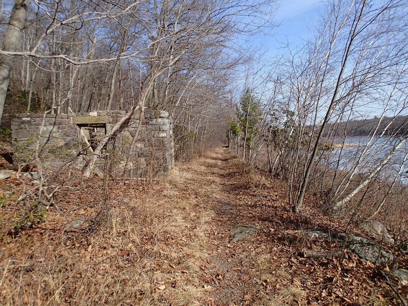 Ruins along Hank's West Trail