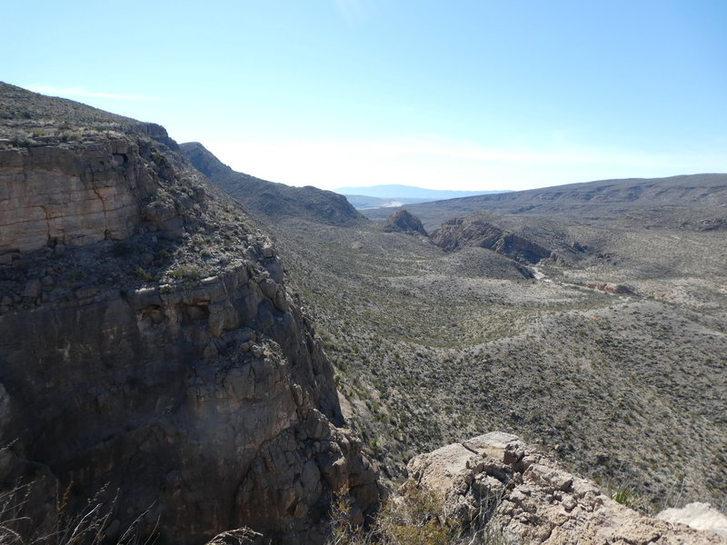 Overlook along the Marufo Vega Connector Trail