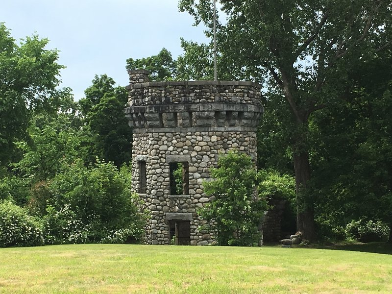 Bancroft Tower, one of the coolest things I've found while hiking. Absolutely awesome.