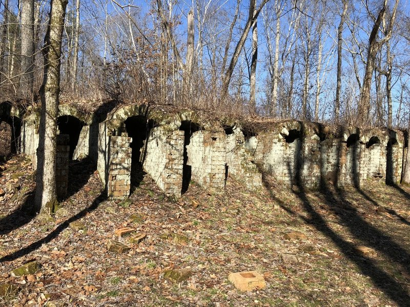 Ruins of the Belgian Coke Ovens at Vinton Furnace Experimental Forest