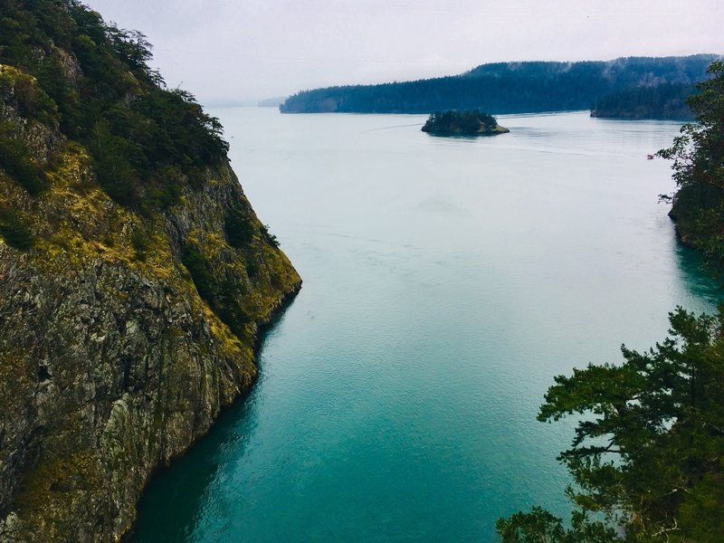 This photo does not do Deception Pass justice.